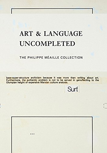 Art & Language Uncompleted: The Philippe Méaille Collection by Museu d'Art Contemporani de Barcelona