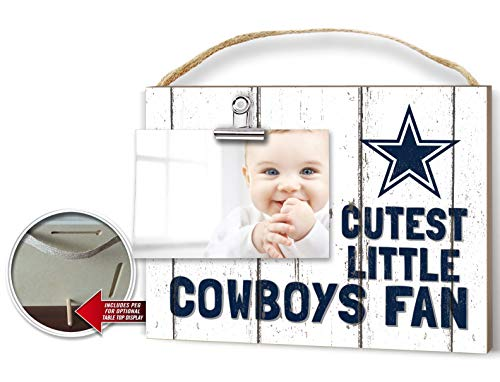 (KH Sports Fan Clip It Weathered Baby Logo Photo Frame Dallas Cowboys)