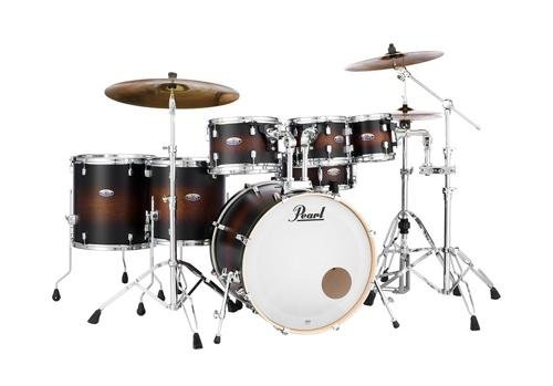 Pearl Drum Set, Satin Brown Burst, inch (DMP927SPC260) (Satin Sst)