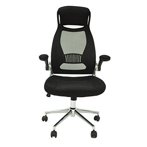 Mesh Computer Office Chair High Back Ergonomic Desk Chair Swivel Executive 26BK (Black) by saneki