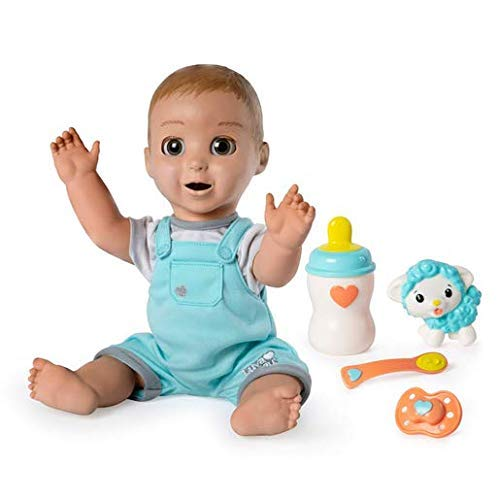 Luvabeau Interactive Talking Baby Doll with Expressions & Movement, Ages 4 & Up