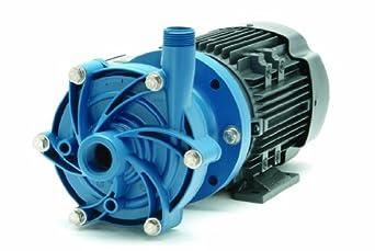 Finish Thompson DB6P-M224 Centrifugal Magnetic Drive Pump, Polypropylene, 1/3 HP, 115/208-230V, 1 Phase, 33.0 Max Feet of Head, 40.0 gpm