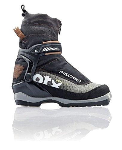 Bc Ski (FISCHER Men's Offtrack 5 BC Ski Boots Black/Brown 43)