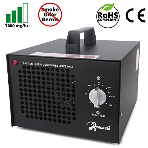 Mammoth 7,000mg Commercial Ozone Generator, Ozone Machines for Odors in Home, Car, and Large Rooms