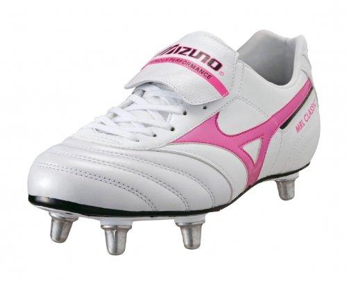 Mizuno - Zapatillas de rugby para hombre Rosa