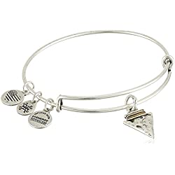 Alex and Ani Arrowhead Bangle Bracelet, Rafaelian Silver, Expandable