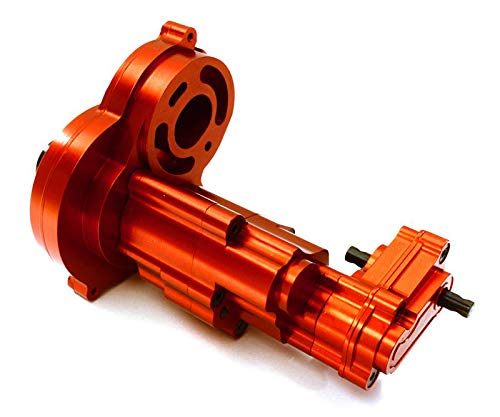 - Integy RC Model Hop-ups C27676RED Complete Alloy Gearbox Housing for Axial 1/10 SCX10 II w/LCG Transfer Case