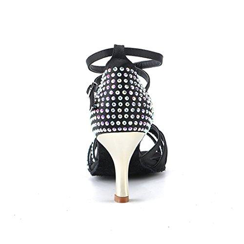Da Donna Black hw180304 Miyooparkuk Scarpe Heel 5cm Ballo Miyoopark 7 HCSUqwt