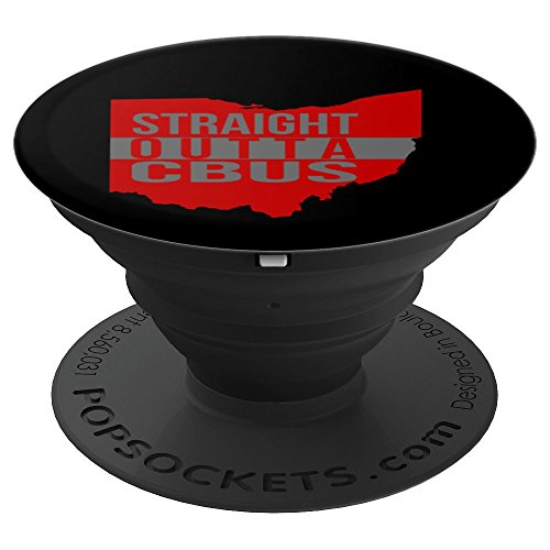 Cbu Pedestal - Straight Outta Columbus Ohio CBUS - PopSockets Grip and Stand for Phones and Tablets