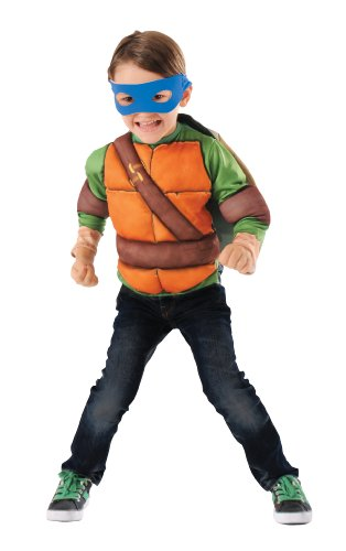 [Teenage Mutant Ninja Turtles Ninja Combat Costume Set, Small] (Ninja Turtle Costumes Boys)