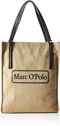 Marc O'Polo Retro Two - Shoppers y bolsos de hombro Mujer Beige (Cream)