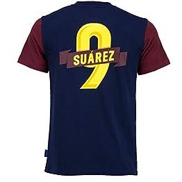 Fc Barcelone T-Shirt Barça - Luis Suarez - Collection Officielle Taille Adulte