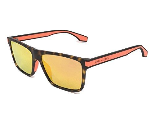 Marc Jacobs sunglasses (MARC-286-S L9G/UW) Matt Havana - Neon Orange - Grey with Red mirror effect lenses - 286 Matt