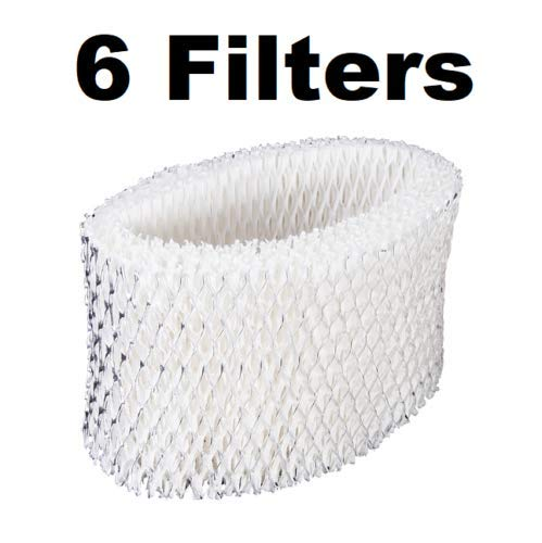 dreamtrade Humidifier Filter Wick for Holmes HWF62 Holmes Cool Mist (6-Pack)