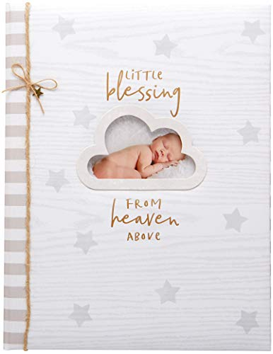 C.R. Gibson Little Blessing Baby Memory Book for Newborns, 64 pgs, 8 3/4