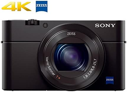 Sony RX100 IV 20 1 MP Premium Compact Digital Camera w/ 1-inch Sensor, 4K  Movies and 40x Super Slow Motion HD DSCRX100M4/B
