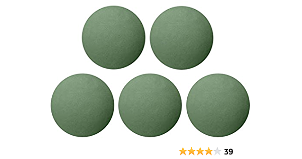 4.8-Inch Floral Foam Ball 6-Pack Green Floral Foam Spheres