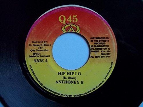 """ANTHONEY B Hip Hip I O / HAWKEYE Nah Lie Pon It 7"""" vinyl"""