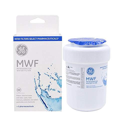 1PACK Genuine GE MWF MWFP 46-9991 GWF HWF WF28 Smart Water Fridge Water Filter New (Ge Profile Arctica Refrigerator Water Filter Replacement)