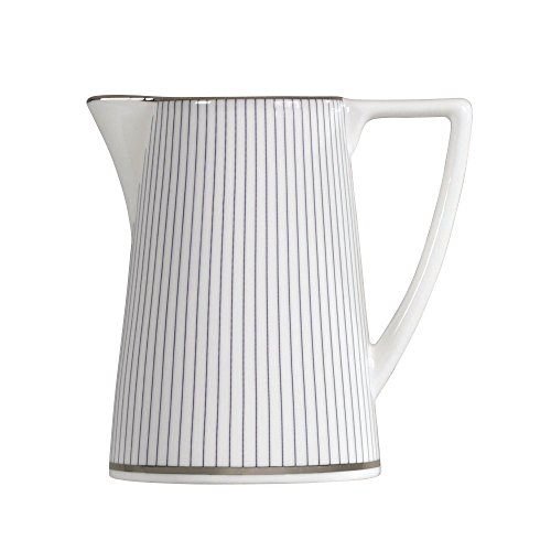 Jasper Conran by Wedgwood Blue Pin Stripe Cream Jug 0.20 Ltr