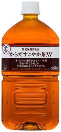 [Coca-Cola Company can not be bundled than the commodity] body healthy tea W-1050mlPET X 12 this 2 case by Coca-Cola