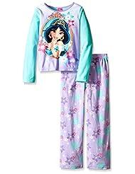 Disney Princess Jasmine Fleece Pajama Set for Little Girls