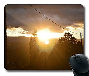 Facing Sun Cool Comfortable Gaming Mouse Pad