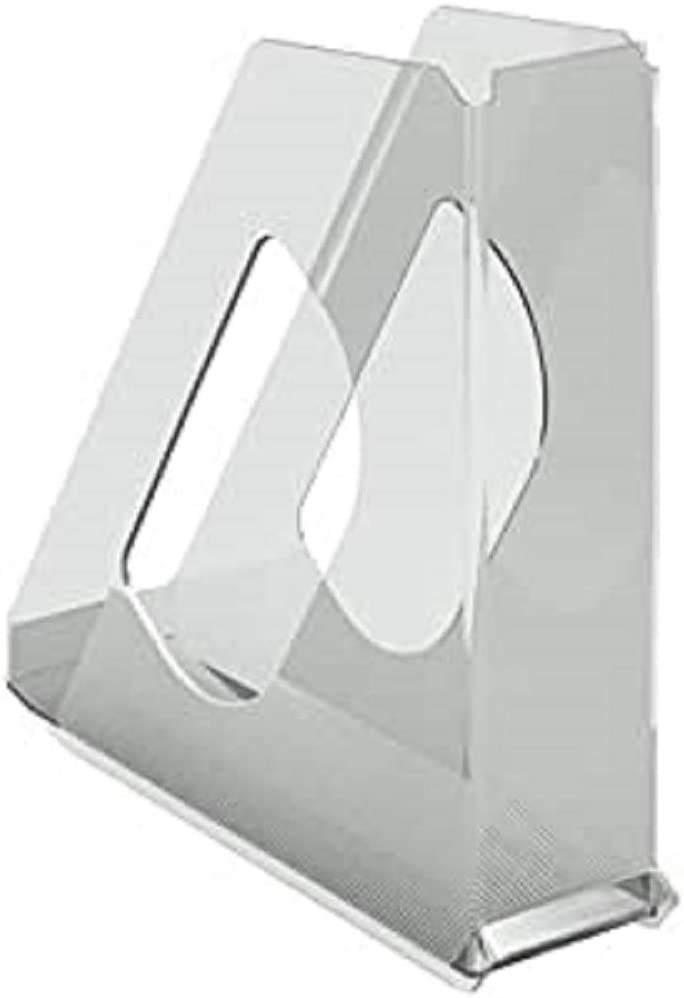 Esselte Europost 21433 - Revistero transparente, 72mm de lomo, A4, Color cristal