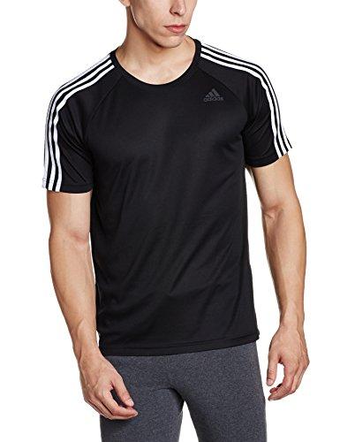 T D2m 3 Homme T stripes shirt Noir Adidas IaZdx7qwa