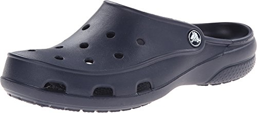 Crocs Women's Freesail Clog, Navy, 7 M US