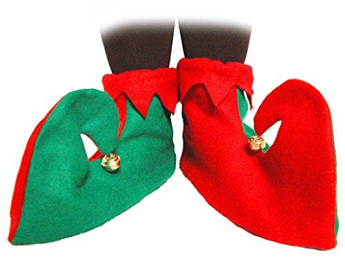Elf Adult Unisex Shoes (Elf Shoes Adult Unisex Halloween Accessory)