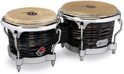 Latin Percussion LP Pedrito Martinez Signature Deep Cut Mango Bongo Set