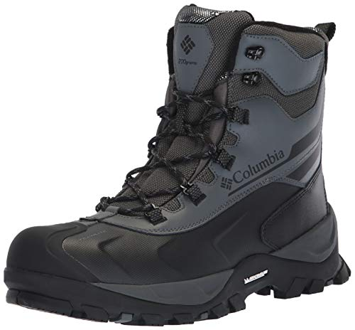 Columbia Men's Bugaboot Plus IV Omni-Heat Mid Calf Boot, Graphite, Black, 10 (Best Ski Boots For Wide Feet 2019)