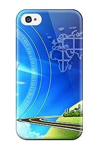 esra aldehaim Slim Fit Tpu Protector SOdlCno2196gBzRp Shock Absorbent Bumper Case For Iphone 4/4s