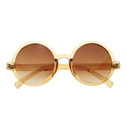 zeroUV - Cute Mod-era Vintage Inspired Round Circle Sunglasses - Circle Glasses Cute