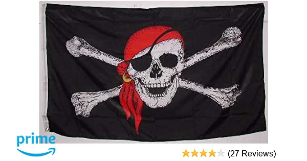 3 metre long 10 flag bunting Time Flies When You Having Rum Pirate