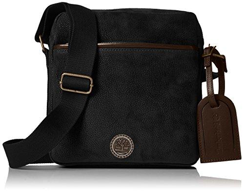 Timberland Tb0m5532 - Shoppers y bolsos de hombro Hombre Negro (Black)