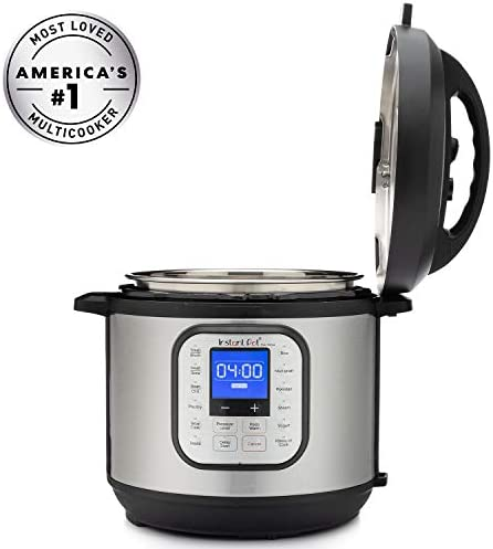 415dWp4PIqL. AC Instant Pot Duo Nova 7-in-1 Electric Pressure Cooker, Slow Cooker, Rice Cooker, Steamer, Saute, Yogurt Maker, Sterilizer, and Warmer, 6 Quart, 14 One-Touch Programs    From the manufacturer