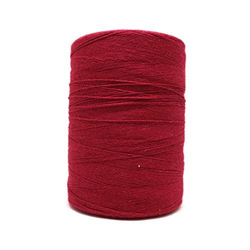 (8/2 Un-Mercerized Brassard Cotton Weaving Yarn ~ Raspberry)
