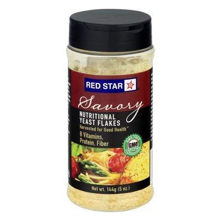 Red Star Yeast Flake Nutritional Shaker Jar, 5 oz (Pack of 4)