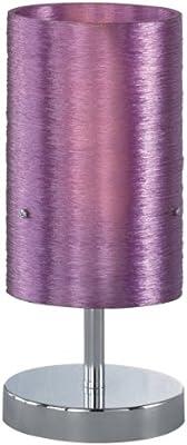 Trio Lighting Lacan lámparas de pie, 40 W, Morado Sobremesa con diámetro de 13 cm