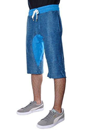 Smoke Rise Mens Basic Summer Urban Dropcrotch Shorts Small
