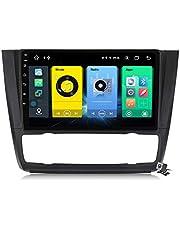 Autoradio Sat Android 10.0 Radio voor BMW 1-Serie E88 E82 E81 E87 2004~2011, gps-navigatie 9 Inch Head Unit MP5 Multimediaspeler Video-ontvanger met 4G WIFI DSP SWC Carplay
