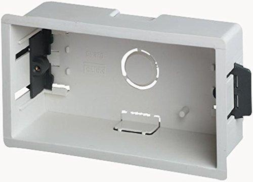 Extra Deep Dry Lining Back Box / Pattress - 2-Gang - Depth 47mm MSG Custom Audio PL14809