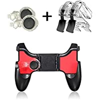 Mayazi 5 in 1 Mobile Phone Gamepad Joystick Controller L1 R1 Fire Shooter Buttons Trigger Handle for PUBG