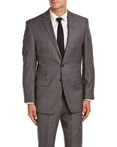 Bruno Piatelli Mens Mattias Plaid Two Button Side Vent Suit