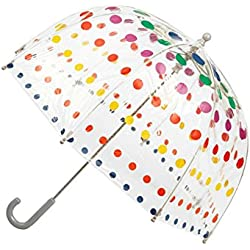 Totes Kids Bubble Umbrella - Primary Dots
