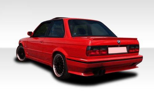 - 1984-1991 BMW 3 Series E30 Duraflex Evo Look Rear Bumper - 1 Piece