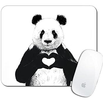 Gaming Mouse MOUSE MAT 130 Panda Bears Mammals Customized Rectangle Mousepad