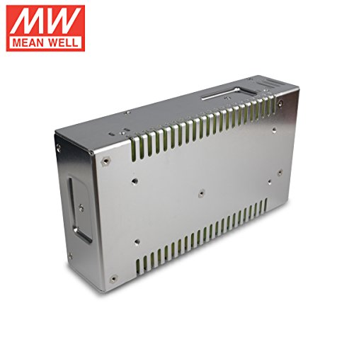 Silver 25 Amp 8.5 L x 4.5 W x 2.0 H 300 Watt Mean Well SP-320-12 Power Supply Single Output 12 Volt